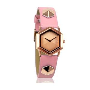 Dámské hodinky Tribeca Rose Smoke Gold