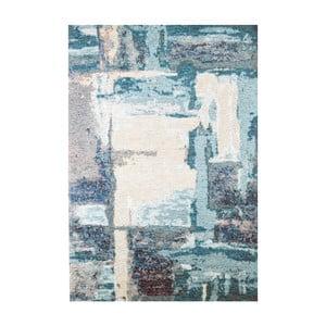 Modrý koberec Eco Rugs Leonore, 135 x 200 cm