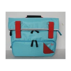 Taška/batoh Slim Case TUbí, modrá/oranžová