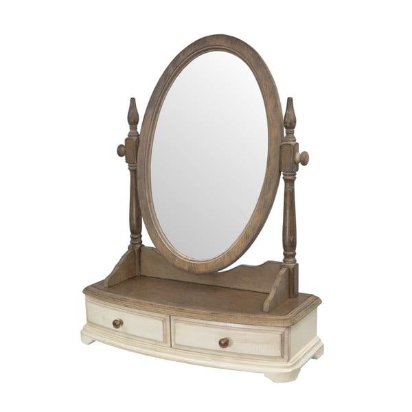 Stolní zrcadlo ze dřeva kaučukovníku Livin Hill Limena