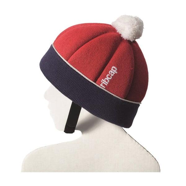 Dětská čepice s ochrannými prvky Ribcap Freddie Red, vel. Maxi