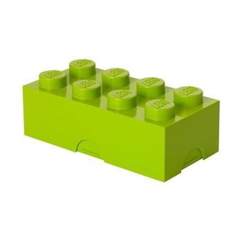Cutie pentru prânz LEGO®, verde lime imagine