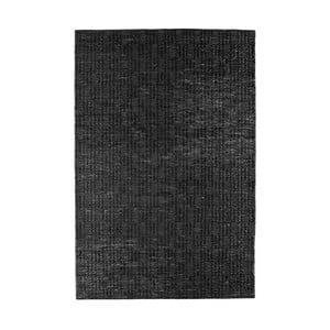 Černý koberec z juty De Eekhoorn Scenes, 240x170cm