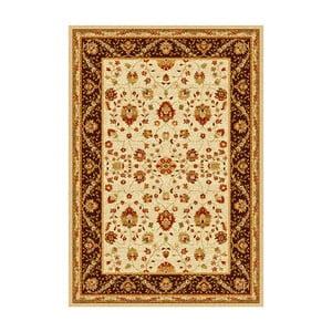Hnědobéžový koberec Universal Madras Brown,160x230cm