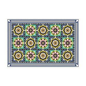 Vinylový koberec Daima Green, 52x100 cm
