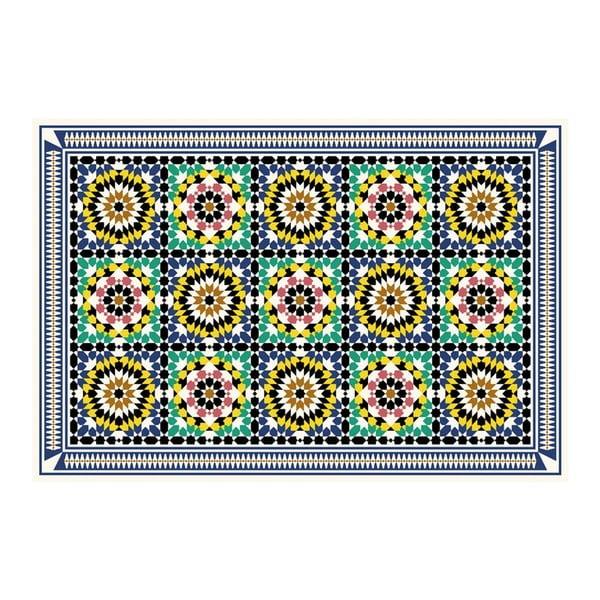 Vinylový koberec Daima Green, 52x280 cm
