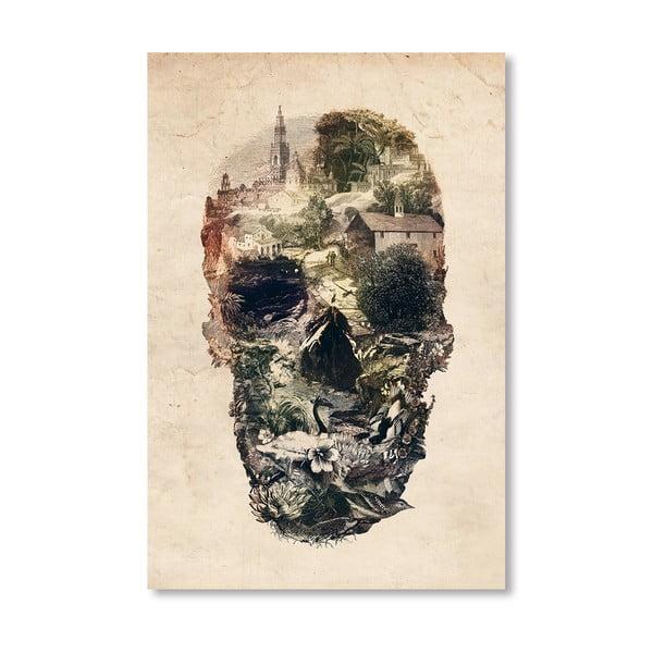 Autorský plakát Skull Town