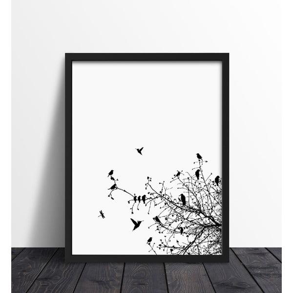 Zarámovaný plakát We Love Home Primavera Print, 30x40cm