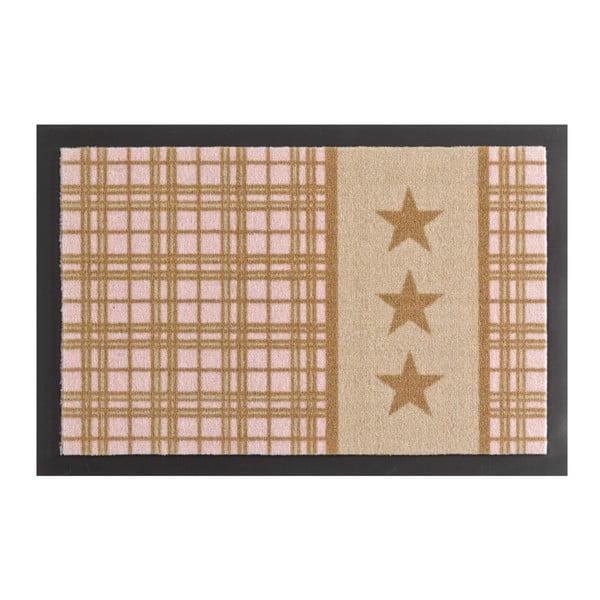 Wycieraczka Hanse Home Star Plaid Printy, 40x60 cm