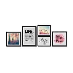 Sada 5 obrazů Tomasucci Life