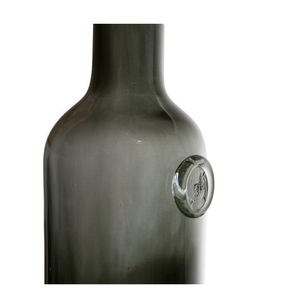 Skleněná karafa Gie El, olivově zelená
