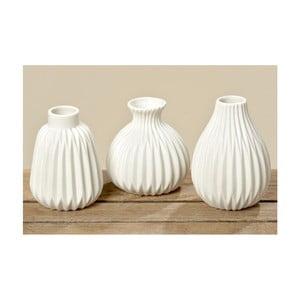 Sada 3 porcelánových váz Boltze Esko
