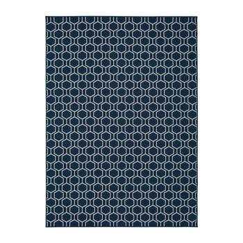Covor potrivit pentru exterior, albastru, Universal Clhoe, 140 x 200 cm de la Universal