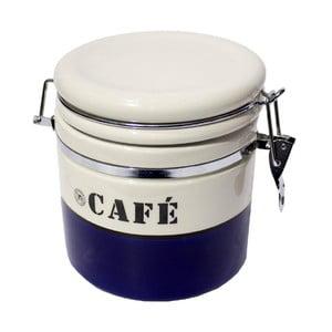 Puntíkatá dóza na kávu Blue Café, 1 litr