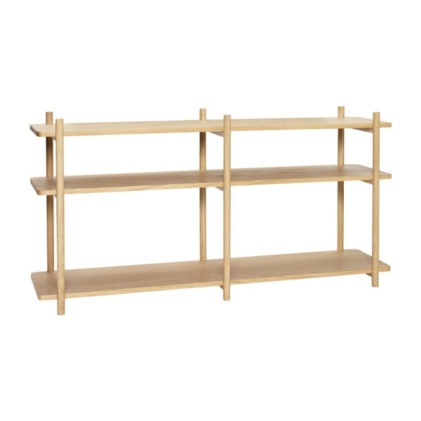 Etajeră Hübsch Oak Shelving Unit