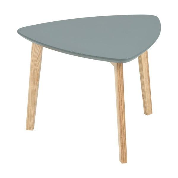 Sivý odkladací stolík Actona Vitis, výška 36 cm