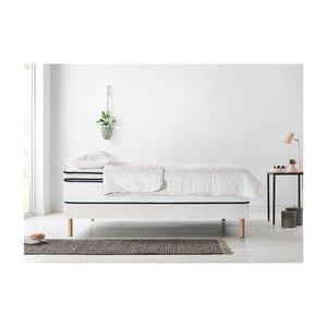 Set dvoulůžkové postele, matrace a peřiny Bobochic Paris Simeo,100x200cm+100x200cm