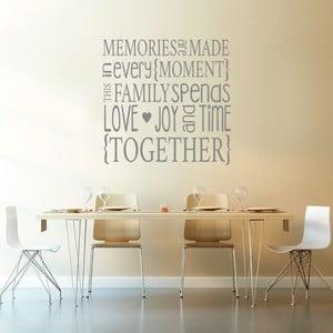 Samolepka Family Memories, 90x60 cm