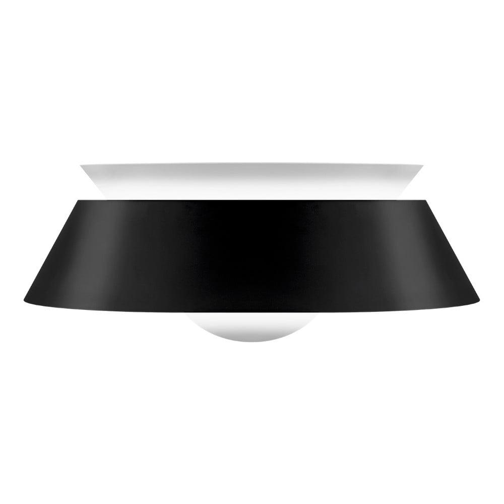 Černé stínidlo VITA Copenhagen Cuna, Ø 38 cm