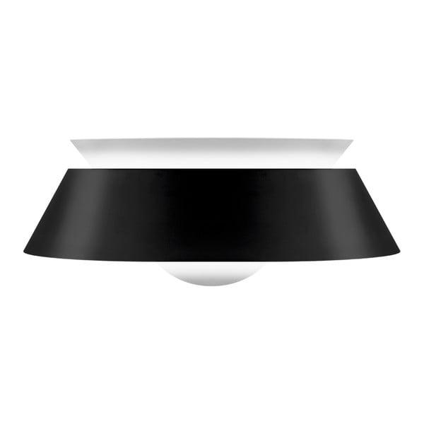 Czarna lampa wisząca VITA Copenhagen Cuna, Ø38cm