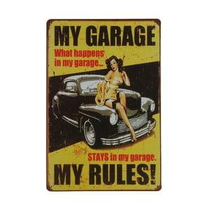 Cedule My Garage, 20x30 cm