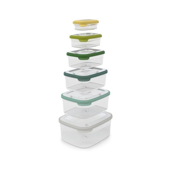 Set 6 caserole pentru alimente Joseph Joseph Nest Opal