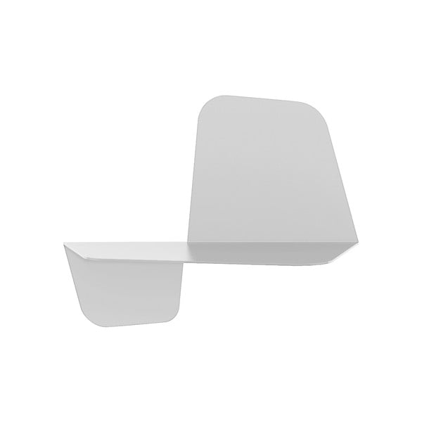Bílá nástěnná police MEME Design Flap, 42cm