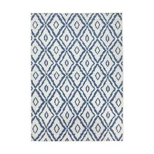 Modro-bílý oboustranný koberec Bougari Rio, 120x 170 cm