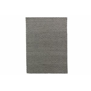 Ručně tkaný koberec Kilim Tsts Black, 100x150 cm