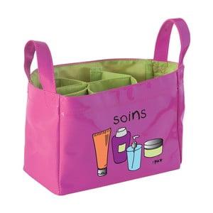 Organizatort cosmetice Incidence Soins, roz-verde