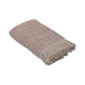Béžový bavlněný ručník Bella Maison Smooth,50x90cm