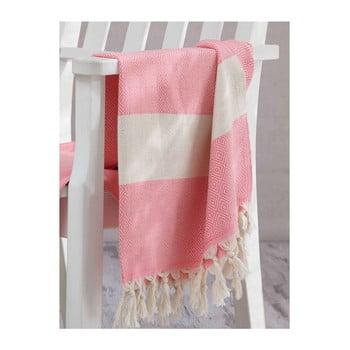Prosop hammam Elmas Pink, 100x180 cm imagine