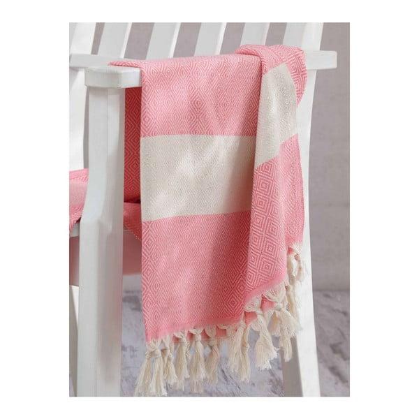 Prosop hammam Elmas Pink, 100x180 cm