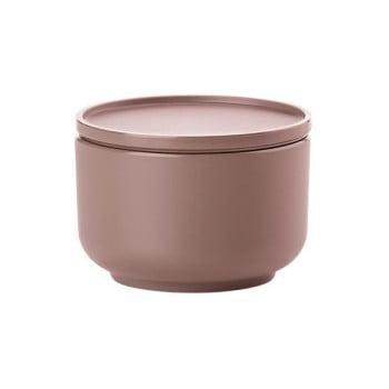 Bol servire cu capac Zone Peili, 250 ml, roz închis
