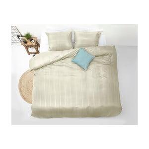 Lenjerie de pat din micropercal Zensation Satin  Montreal, 200 x 200 cm, crem
