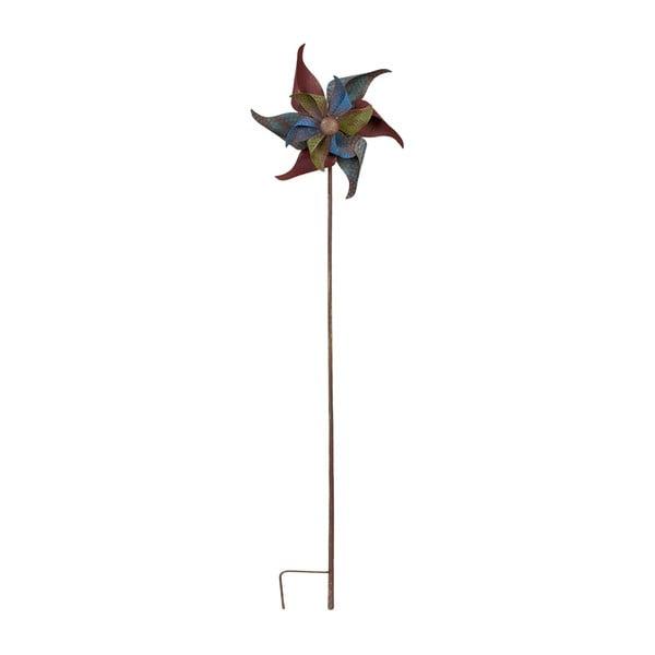 Zapichovací větrník na zahradu Wind, 142 cm