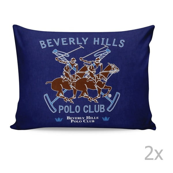 Sada 2 obliečok na vankúš Beverly Hills Polo Club Barrow