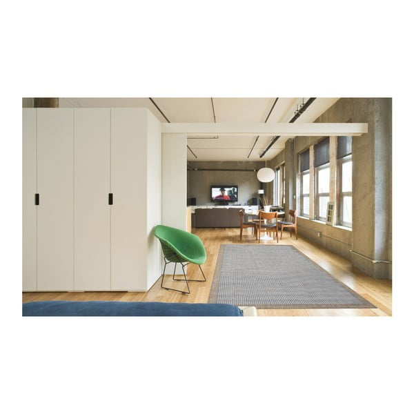 Covor foarte rezistent Floorita Chrome, 135 x 190 cm, albastru