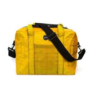 Cestovní taška USB žlutá, velikost M