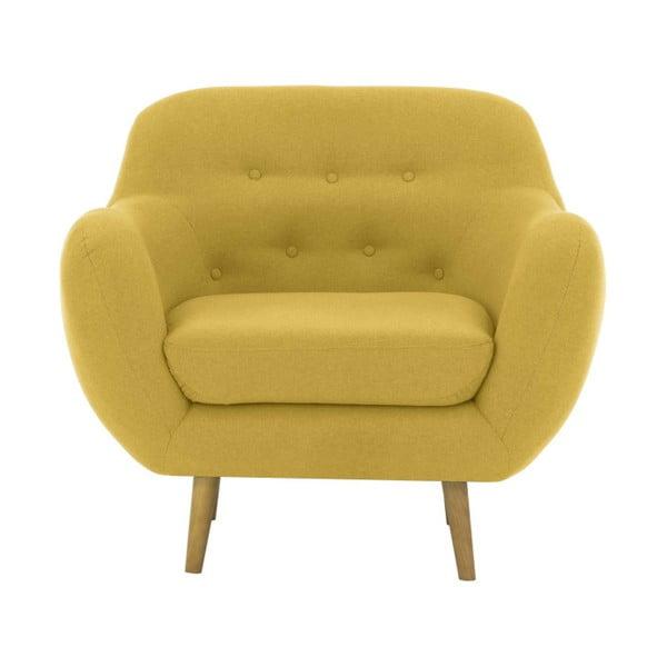 Zielony fotel Vivonita Gaia