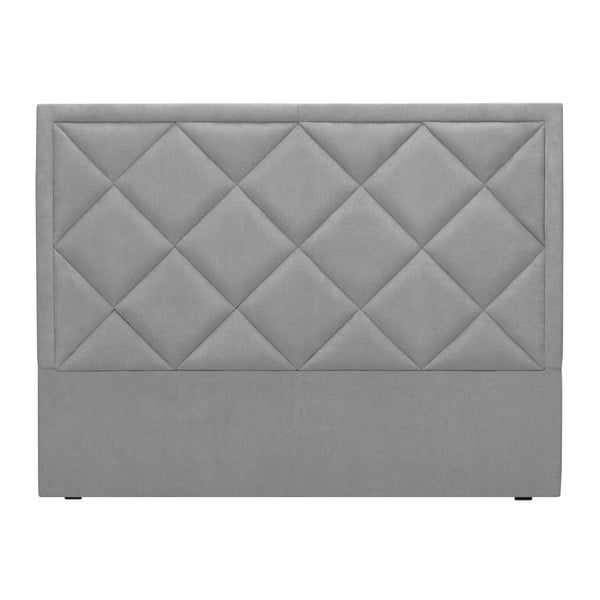Světle šedé čelo postele Windsor & Co Sofas Superb, 180 x 120 cm