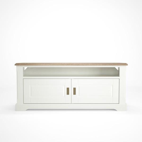 Campton fehér fa TV-állvány - Artemob