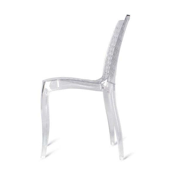 Sada 4 plastových židlí  Quadri