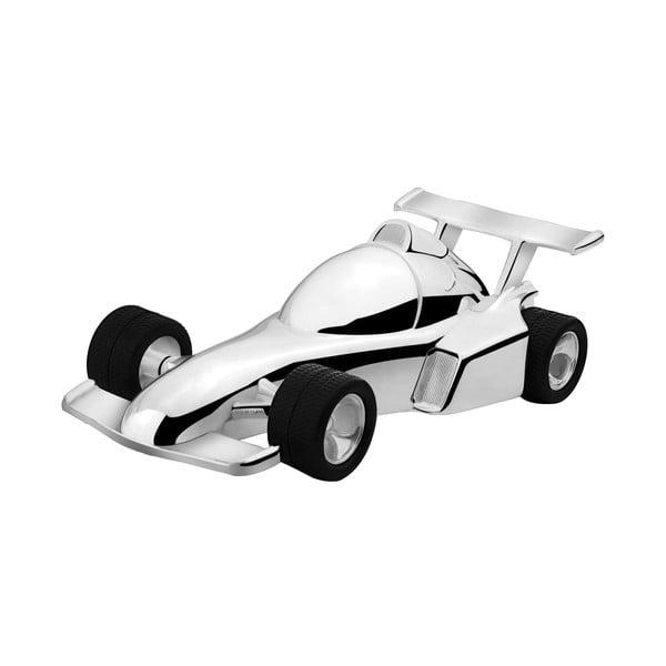 Kasička Závodní auto, postříbřená