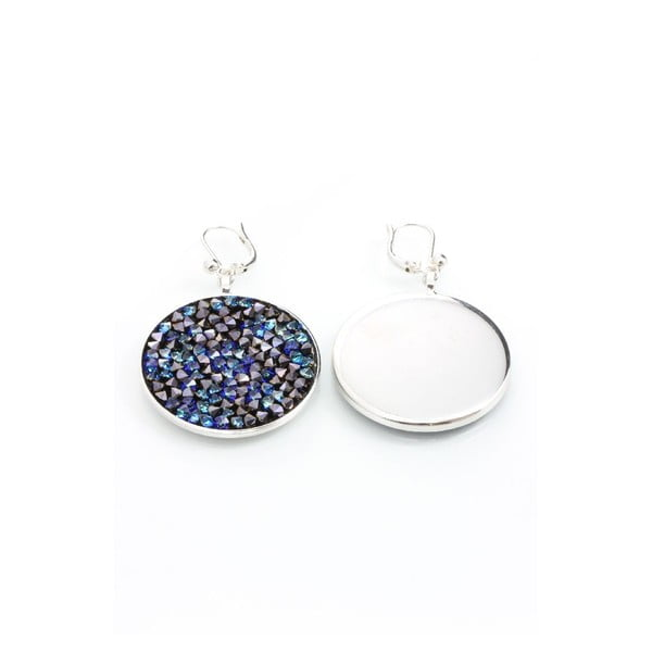 Náušnice s krystaly Swarovski® Yasmine Rhine