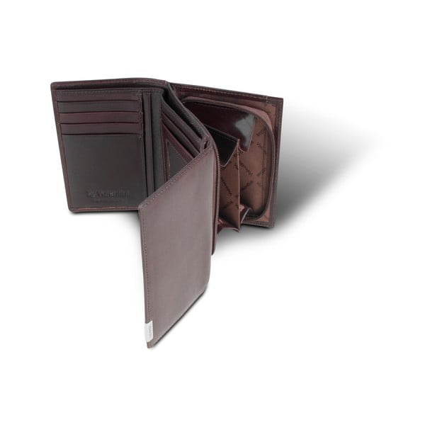 Kožená peněženka Valentini 161, hnědá