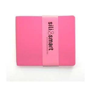 Silikonová peněženka Sili Guy Smart, růžová