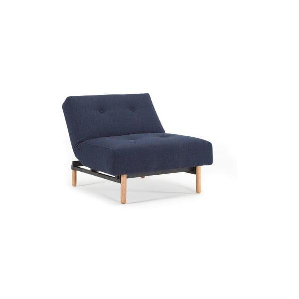 Ample Elegant Mixed Dance Blue sötétkék kinyitható fotel - Innovation
