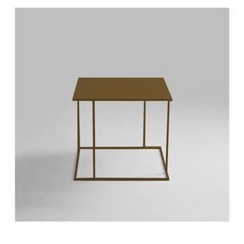 Masă auxiliară Custom Form Walt, 50 x 50 cm, auriu de la Custom Form