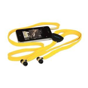 Sluchátka hi-String, žlutá